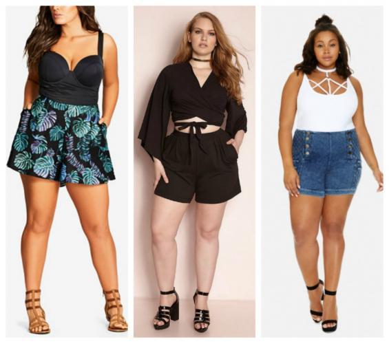 Как выбрать шорты девушкам с размером плас сайз?
